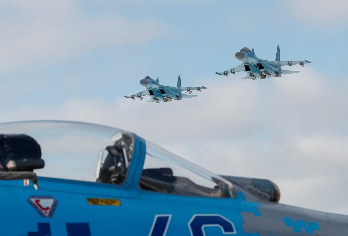 Су-27 / иллюстрация / REUTERS