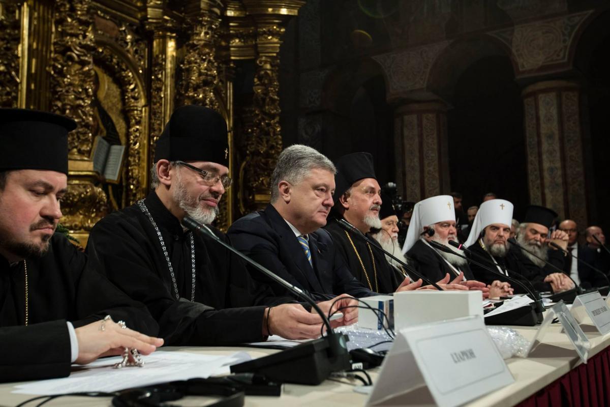 В ноябре Порошенко и Варфоломей подписали соглашение о сотрудничестве \ Администрация президента Украины