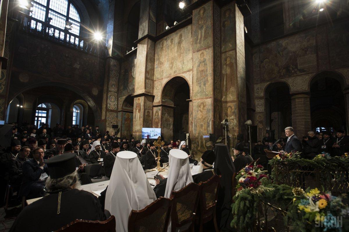 Глава новой украинской церкви получит томос 6 января \ УНИАН