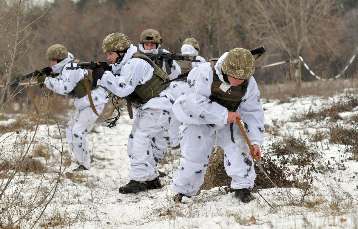 There were no attacks on positions of the Ukrainian military / Photo from UNIAN