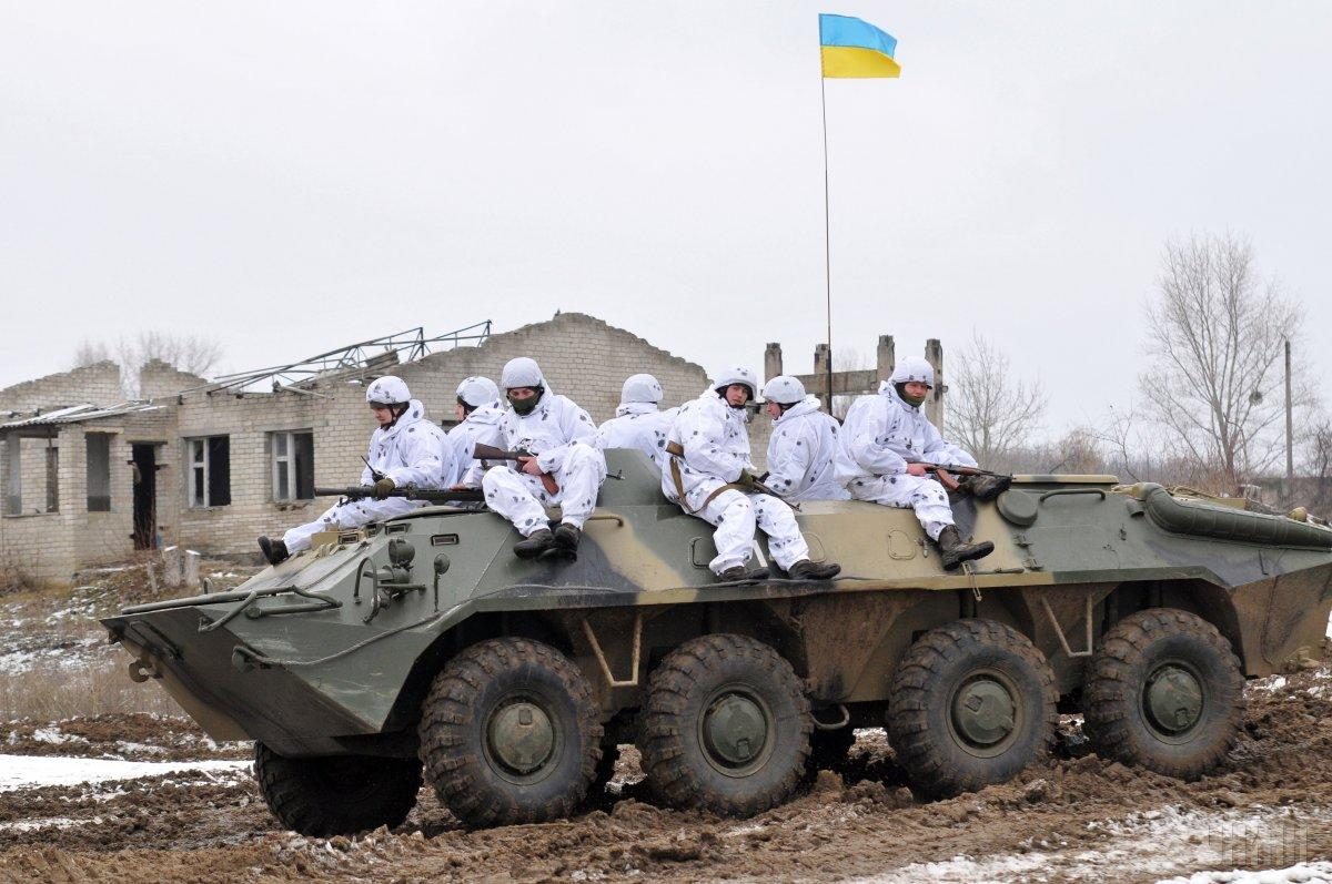 Ukraine's army in Donbas / Photo from UNIAN