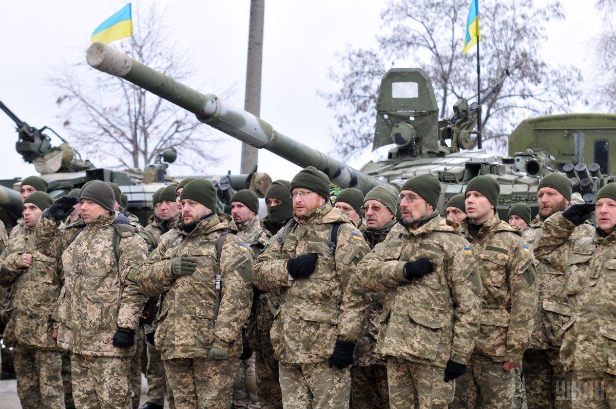 Украинцы больше всего доверяют армии / фото УНИАН