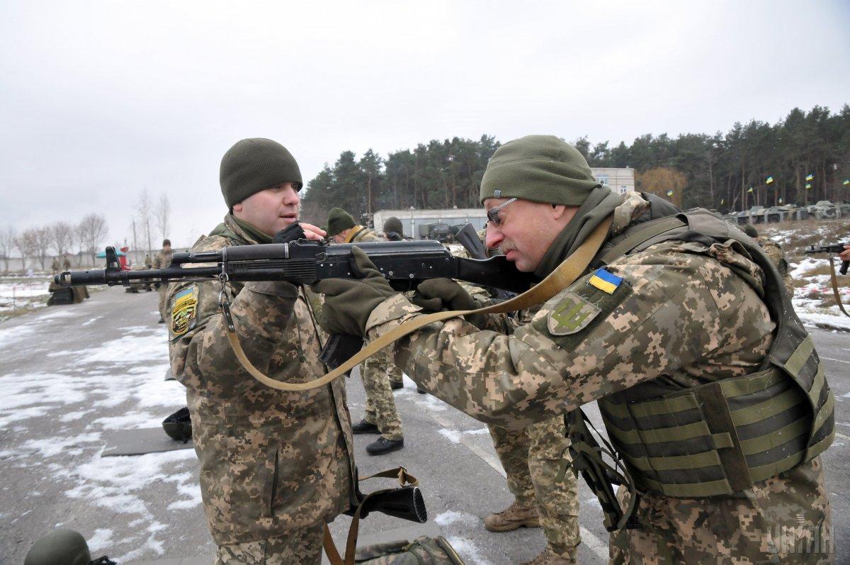 Ни один военнослужащий Объединенных не пострадал / фото УНИАН