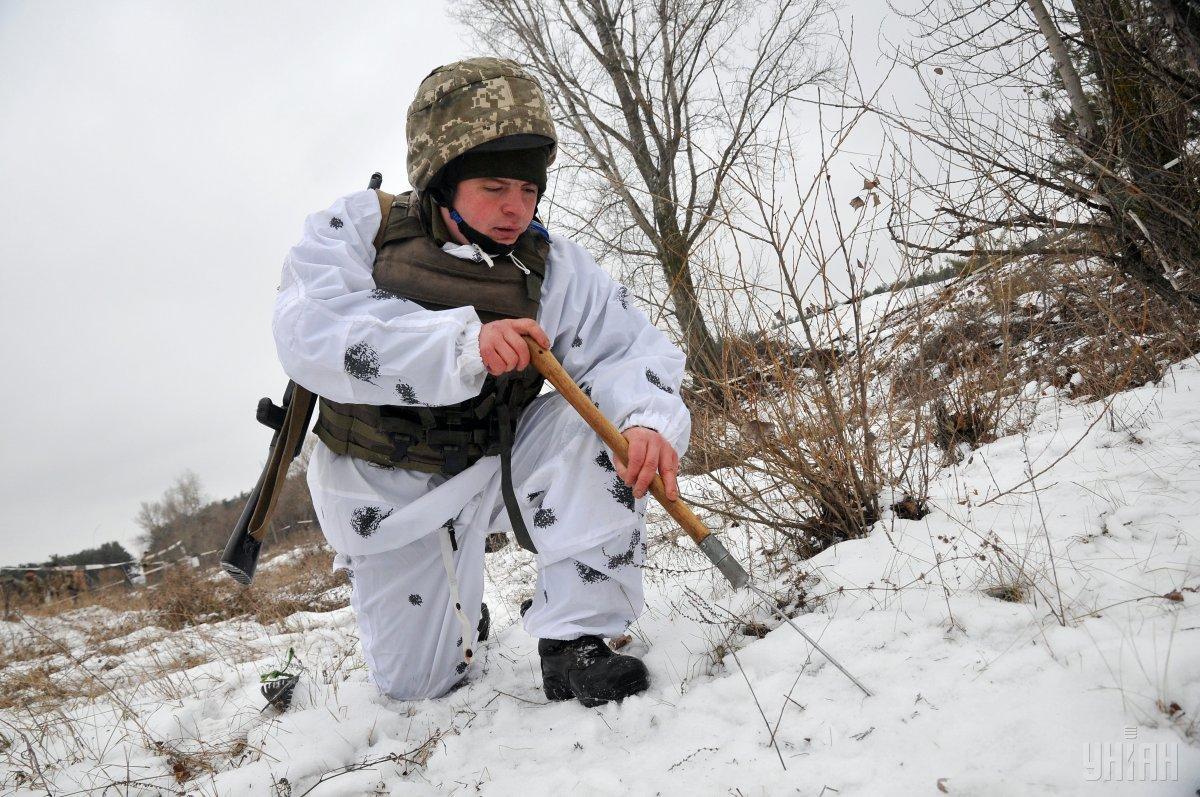 На Донбассе сегодня один украинский военный погиб / фото УНИАН