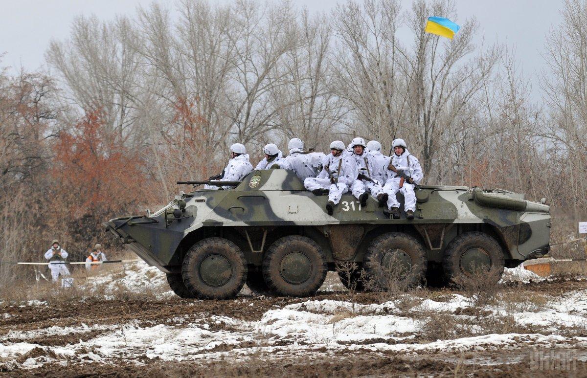 За сутки ни один украинский военный не пострадал / фото УНИАН