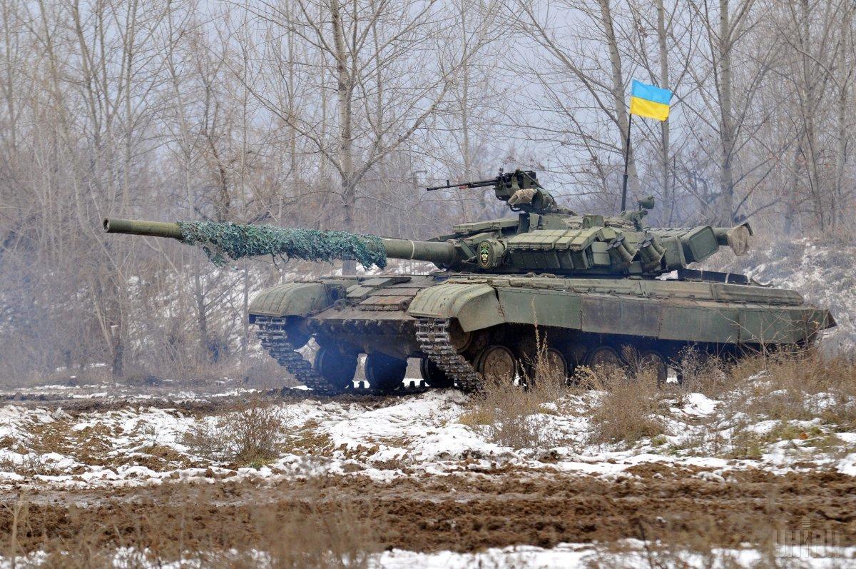Українські військові не постраждали / фото УНІАН
