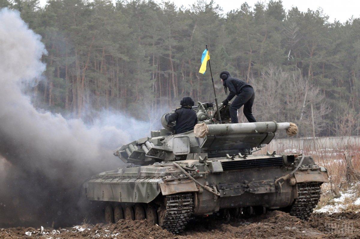 Армия укомплектована на 85% / фото УНИАН