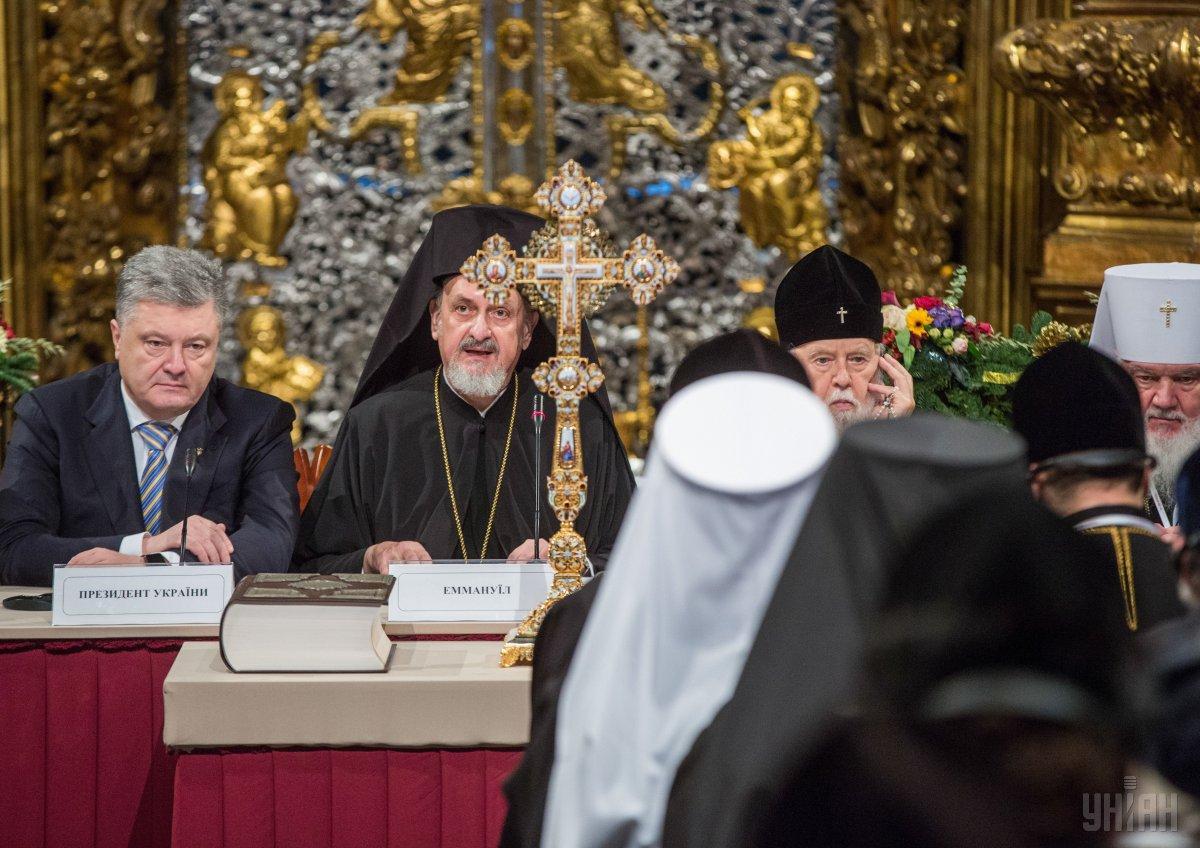 По словам архиепископа, устав новой церкви будет приниматься на следующем поместном соборе позже / фото УНИАН