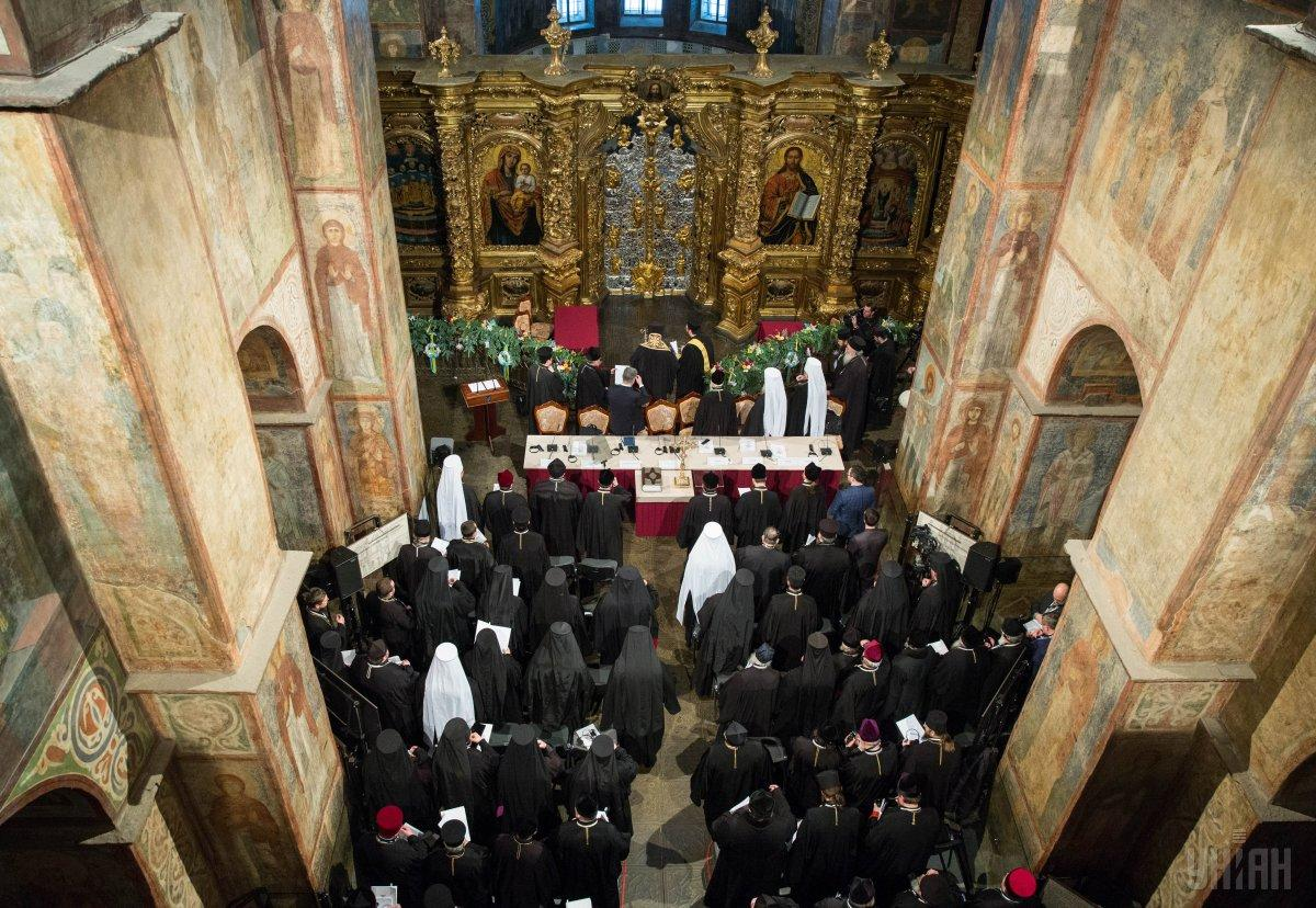 15 грудня 2018 року відбувся Об'єднавчий собор українських православних церков / фото УНІАН