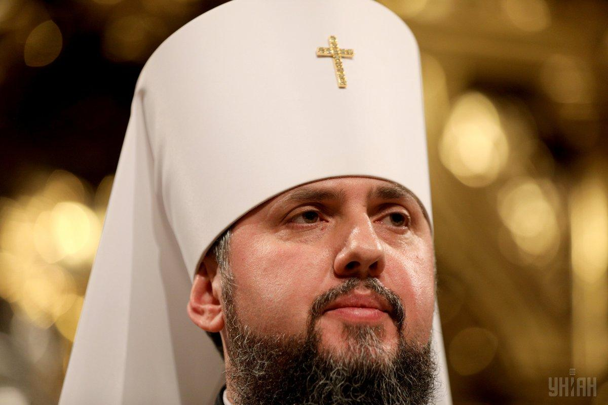 Епифаний после получения томоса заявил об утверждения автокефальной Православной церкви Украины / фото УНИАН