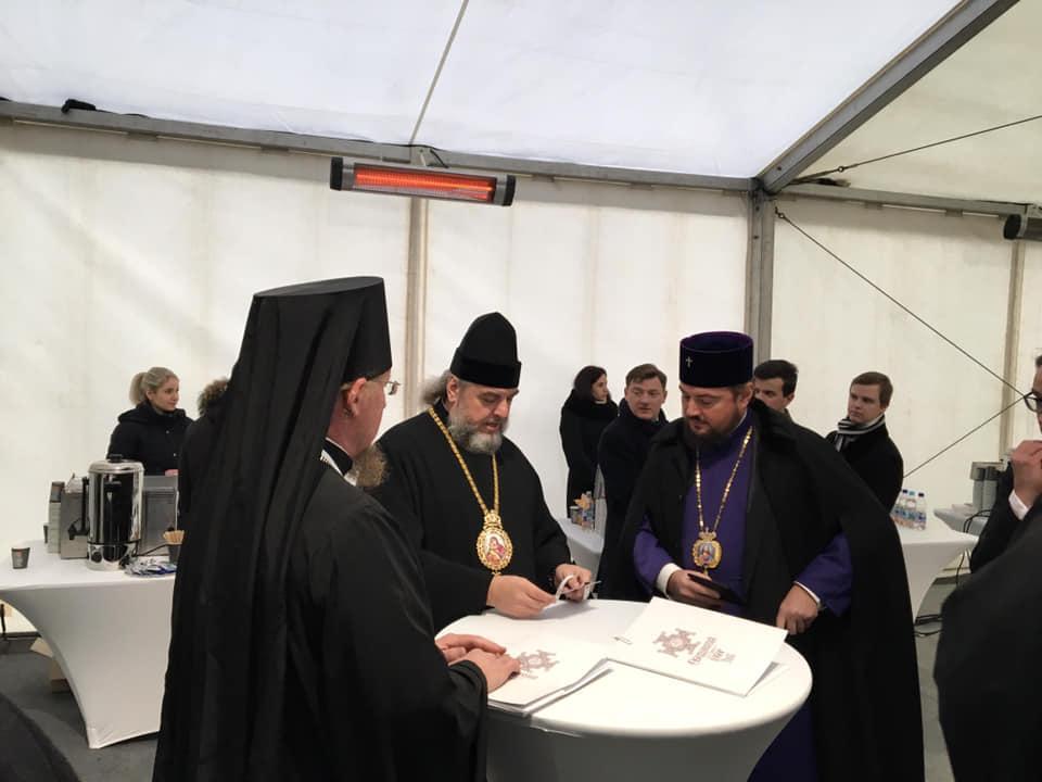 На соборі, за даними ЗМІ, були помічені два митрополити УПЦ МП / Facebook - Богдан Тимошенко