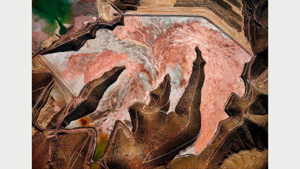 Рудник Моренси #1, Кліфтон, Арізона, США, 2012 рік: головний мідьовидобувної регіон США \ Фото Едварда Буртинского