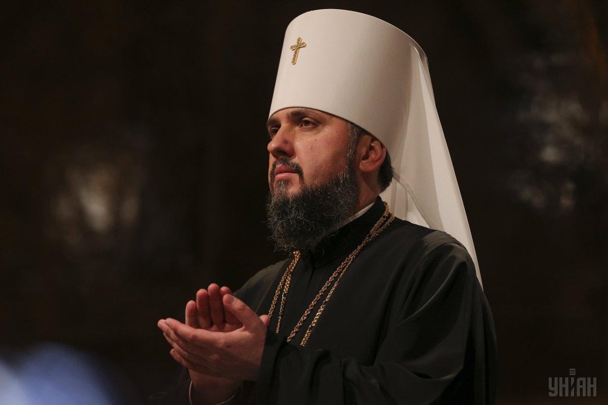 Епифаний отметил, что церковь проникает глубоко в души православных украинцев / фото УНИАН