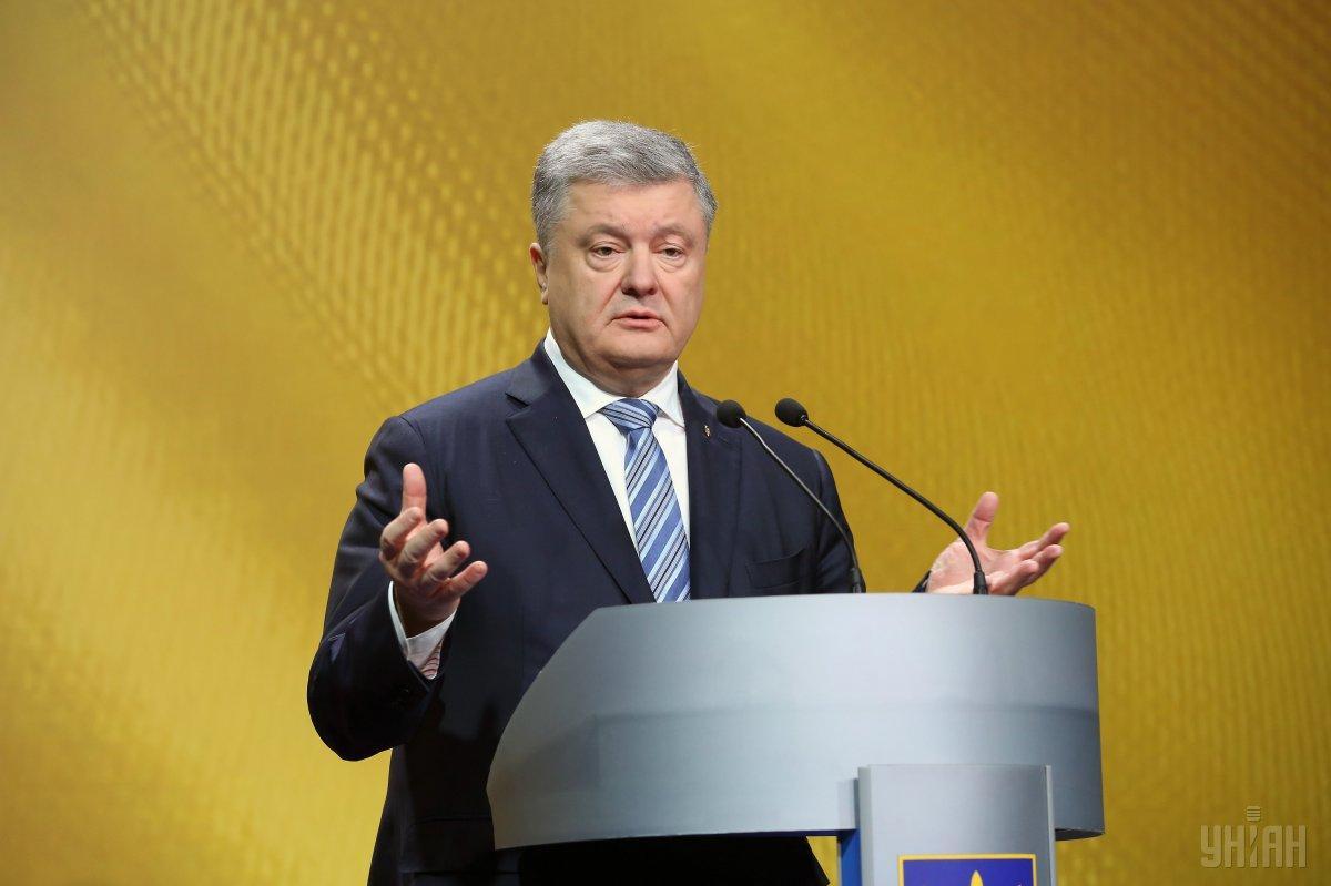 Лишь 17% опрошенных жителей Киева верят, что выборы выиграет действующий президент Петр Порошенко / фото УНИАН
