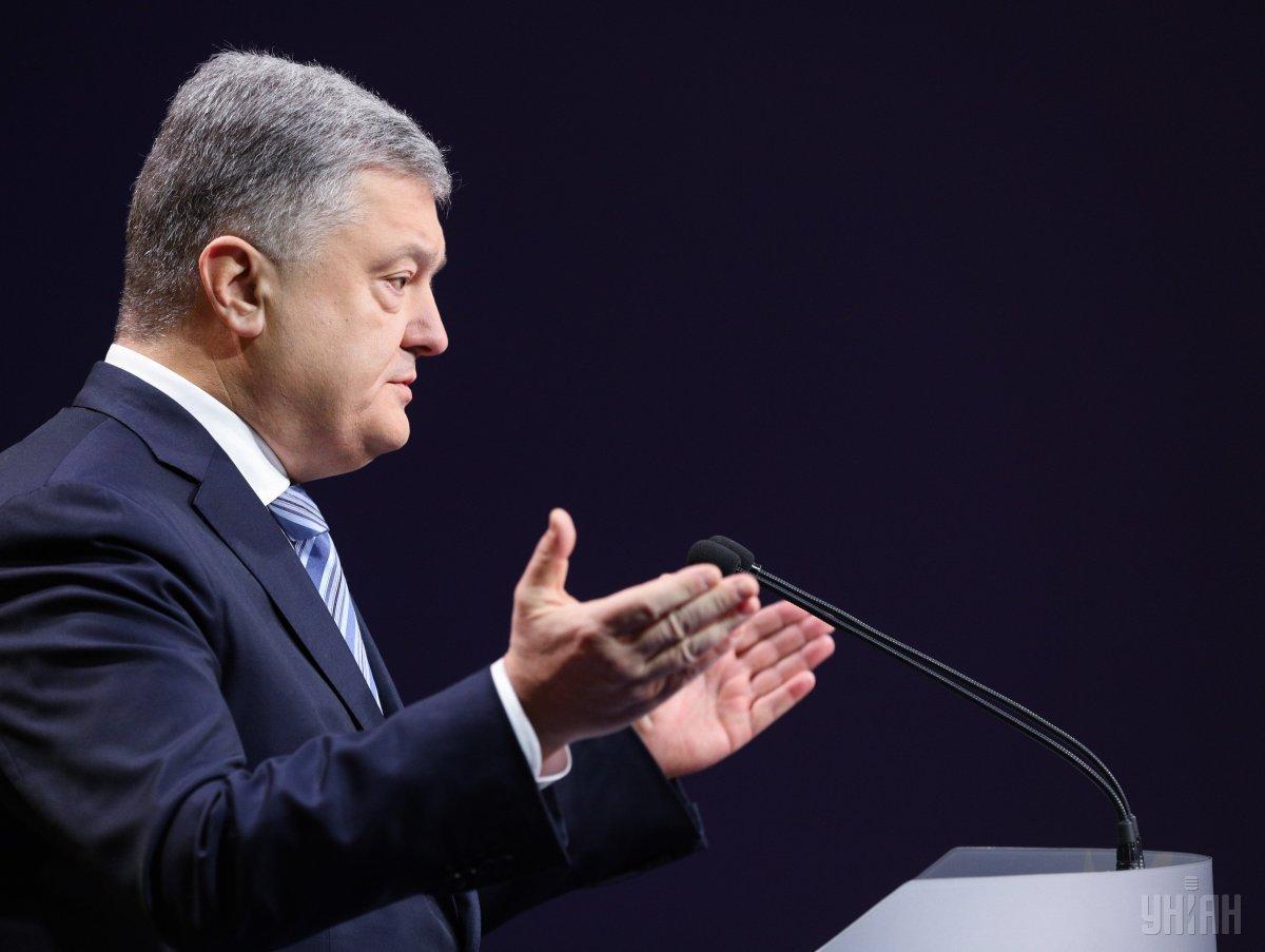 Согласно последним данным опросов, Порошенко занимает третью строчку рейтинга кандидатов / УНИАН