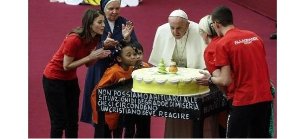 Папа Римський відзначає день народження / vaticannews.va