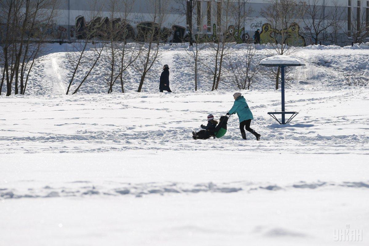 Температура в феврале будет близка к норме / УНИАН