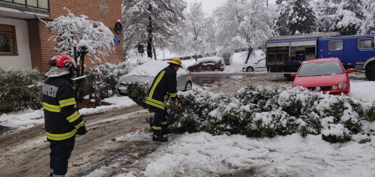 Румыния пострадала от сильного снегопада / www.facebook.com/igsu.situatiideurgenta
