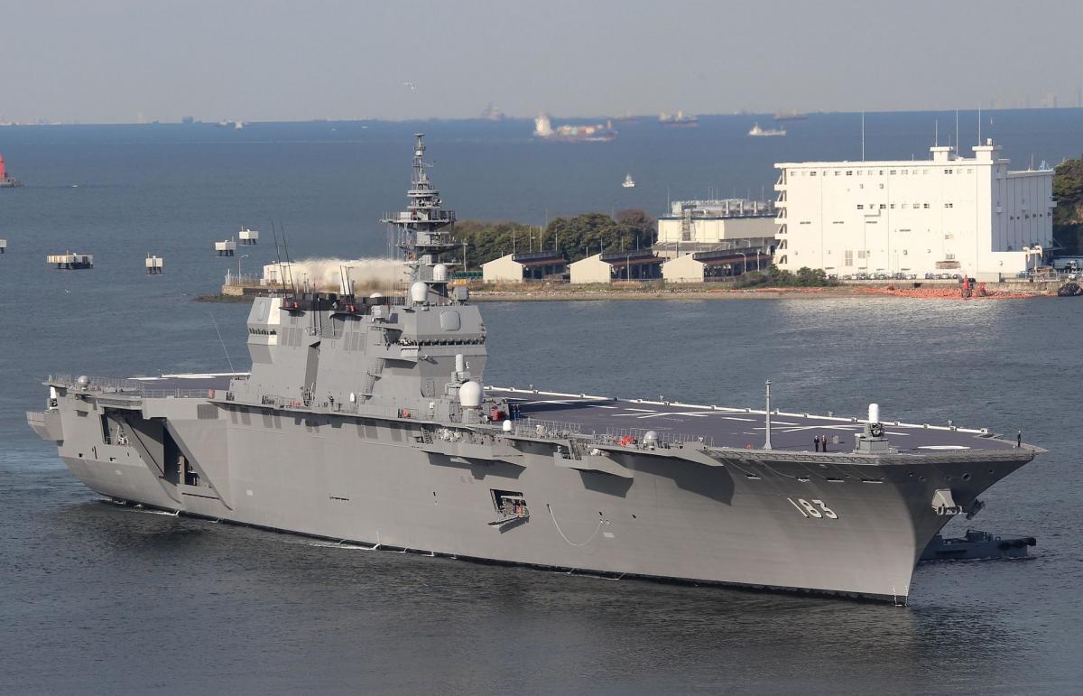 Японский флот получит авианесущие корабли / Иллюстрация -wikipedia.org