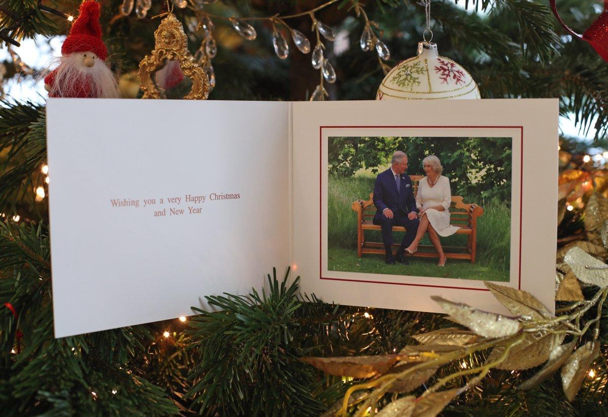 Різдвяні листівки з королівською родиною / twitter.com/ClarenceHouse