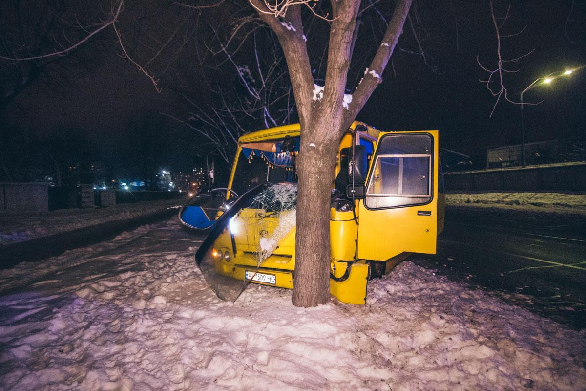 Инцидент произошел на улице Булаховского /фото Информатор