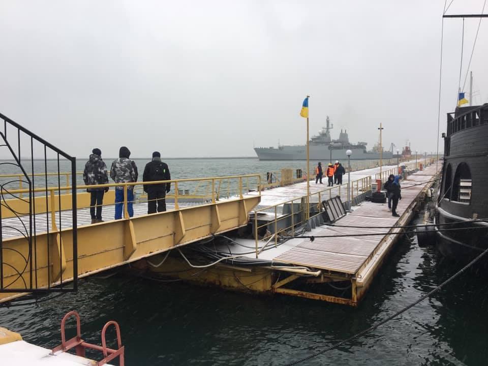 Корабль может выдавать адаптированную информацию практически в режиме реального времени/ Facebook Андрей Клименко