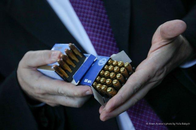 Лінія дозволяє виробляти до 14 мільйонів патронів в рік / фото Arsen Avakov