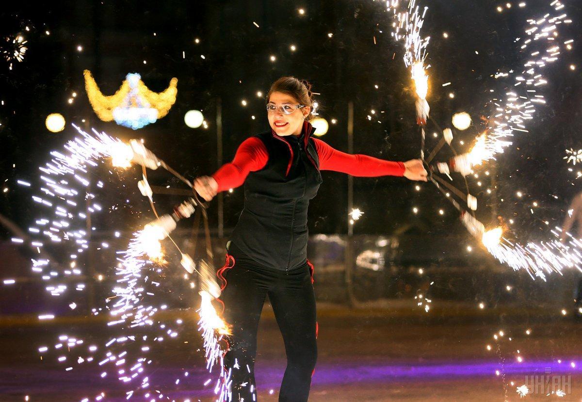 22 грудняу Києві пройде новорічнийпарадBorjomi New Year Parade / фото УНІАН