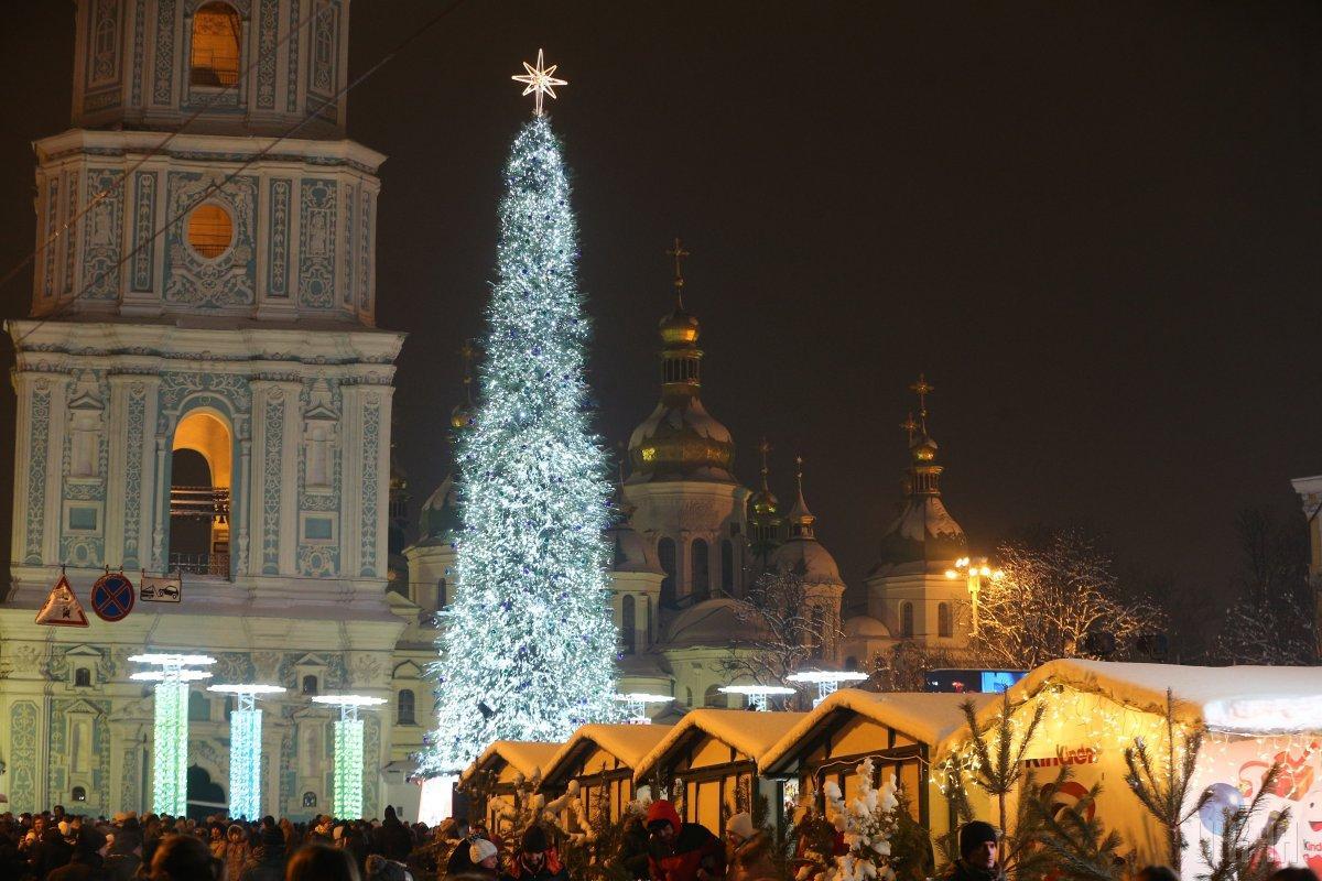 В Киеве в новогоднюю ночь до -3 градусов / фото УНИАН
