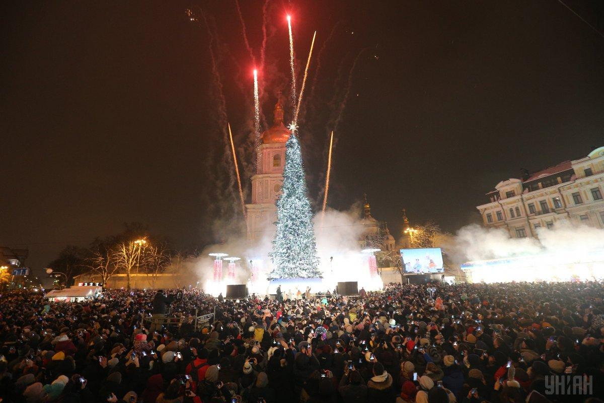 В Киеве в новогоднюю ночь ожидается 5-7º мороза / фото УНИАН