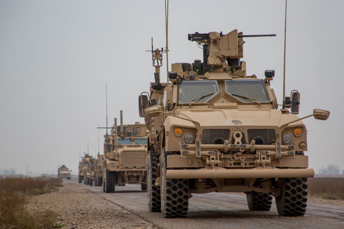 Американские военные умышленно отдали сирийский город России / Иллюстрация / REUTERS