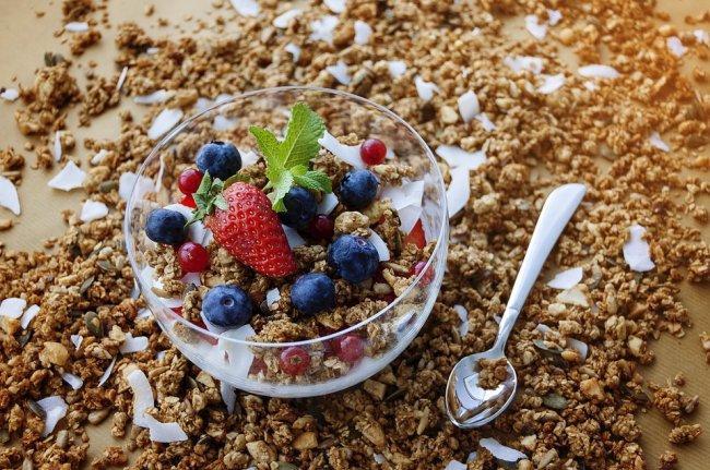 Мюслі і гранола містять багато цукру / фото pixabay.com