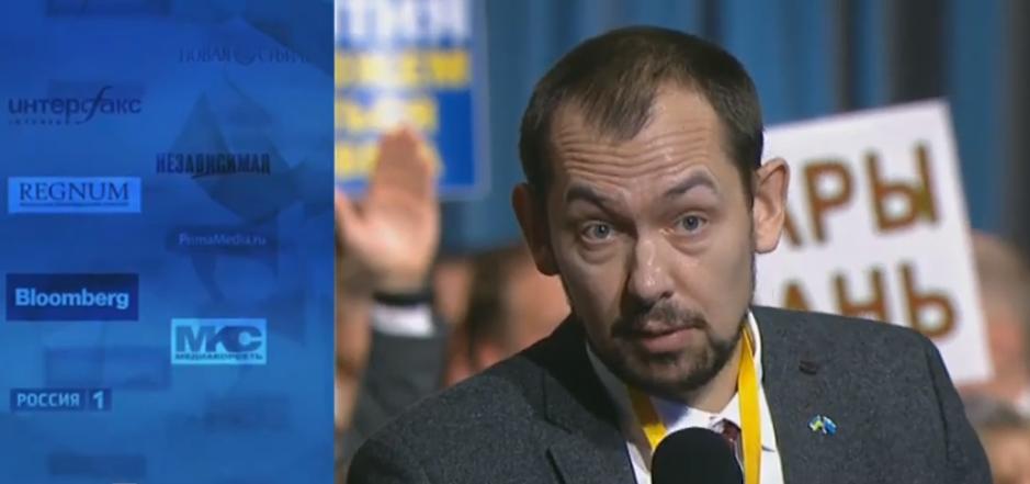 Роман Цимбалюк спросил у Путина, каковы условия обмена украинских моряков / скриншот