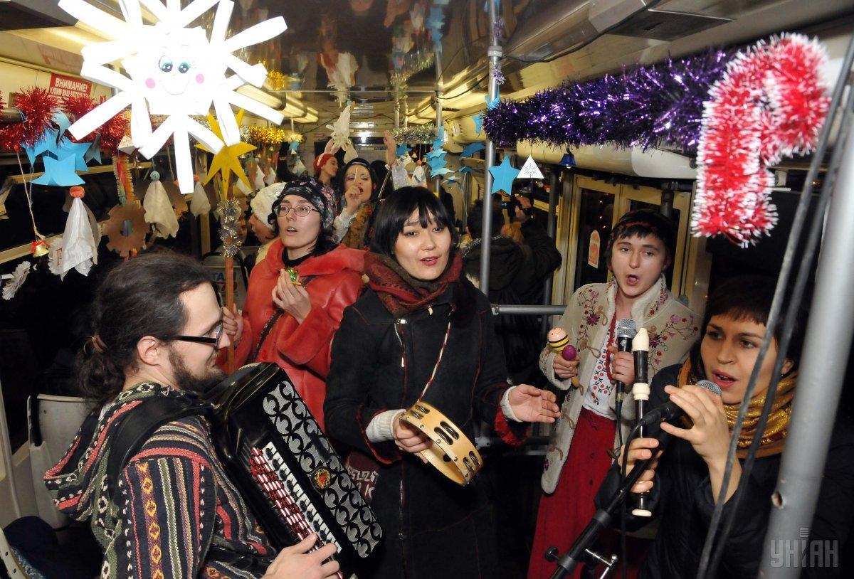 В чудовій компанії Новий рік можна зустріти будь-де / Фото УНІАН