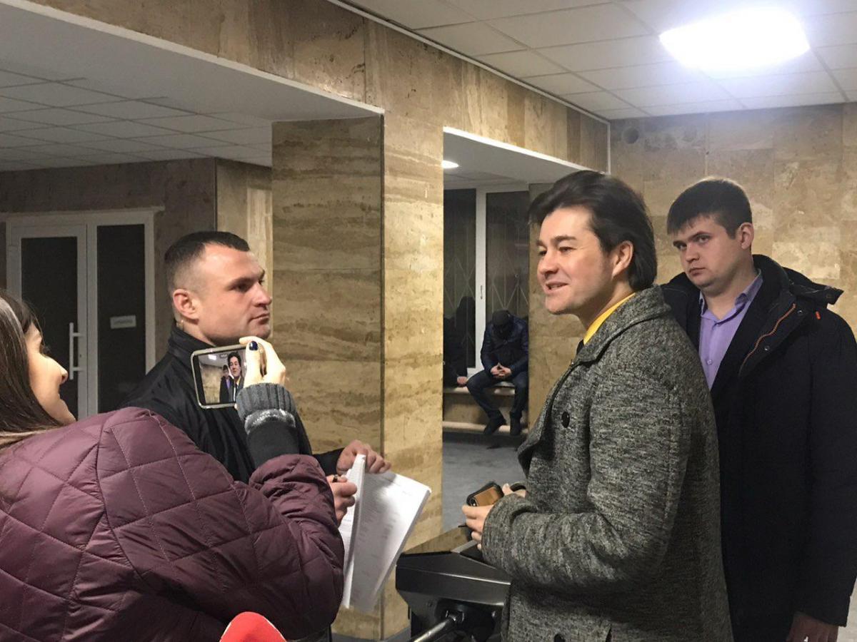 На корпоратив, в частности, приехал министр культуры Евгений Нищук / фото pravda.com.ua