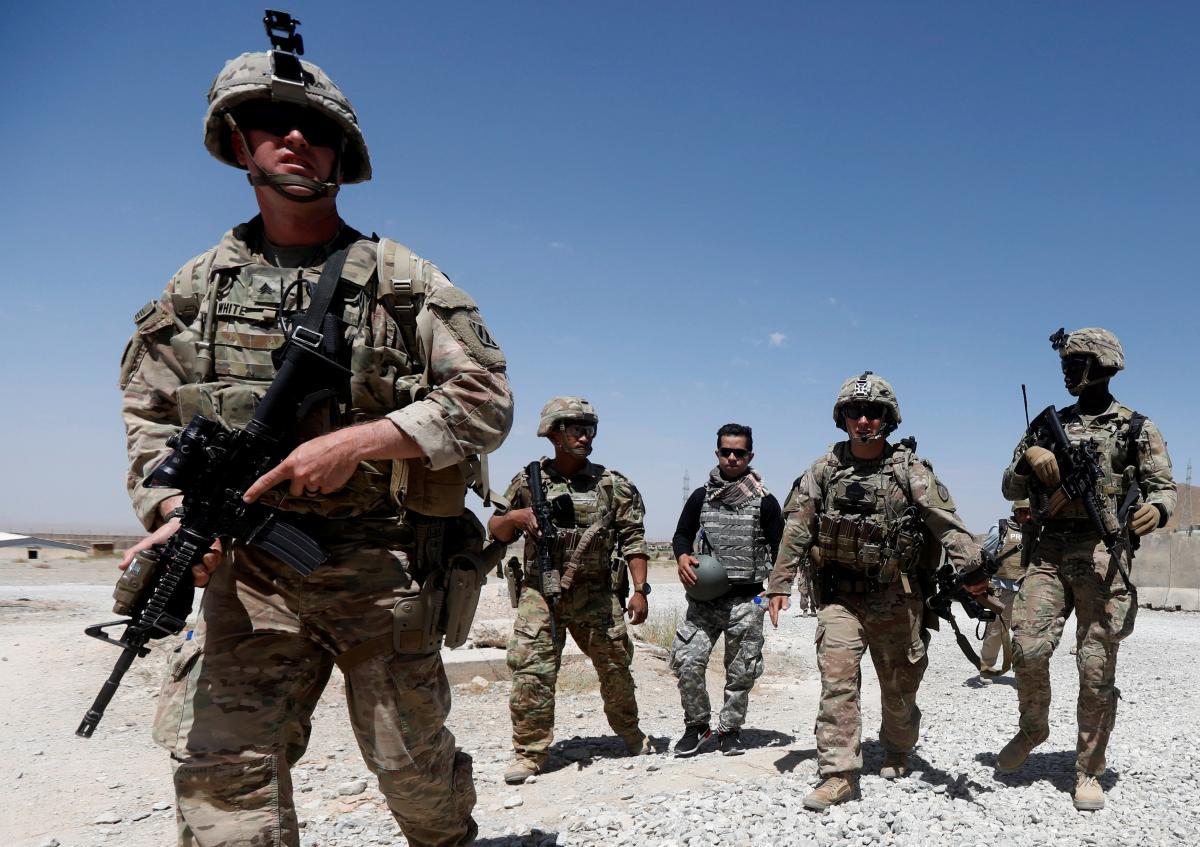 В 2020 годуСШАсообщили, что оставят в Афганистане и Ираке по 2,5 тыс. военных \ фото REUTERS