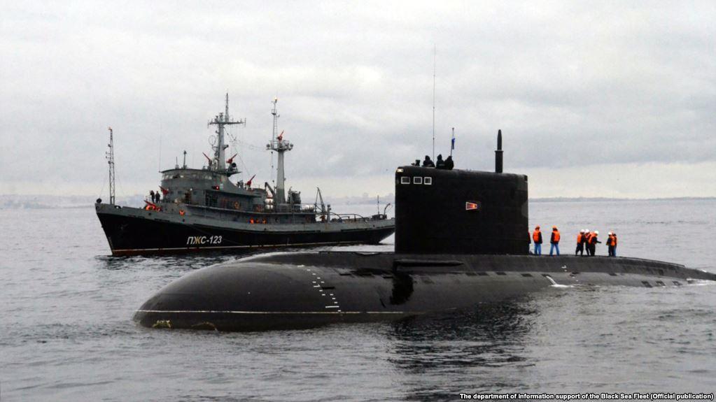 Photo from the Russian Black Sea Fleet