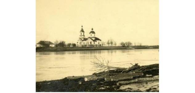 Храм у селі Старосілля / Österreichisches Staatsarchiv