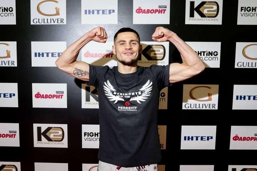 Денис Беринчик дебютирует в кулачных боях / фото K2 Ukraine