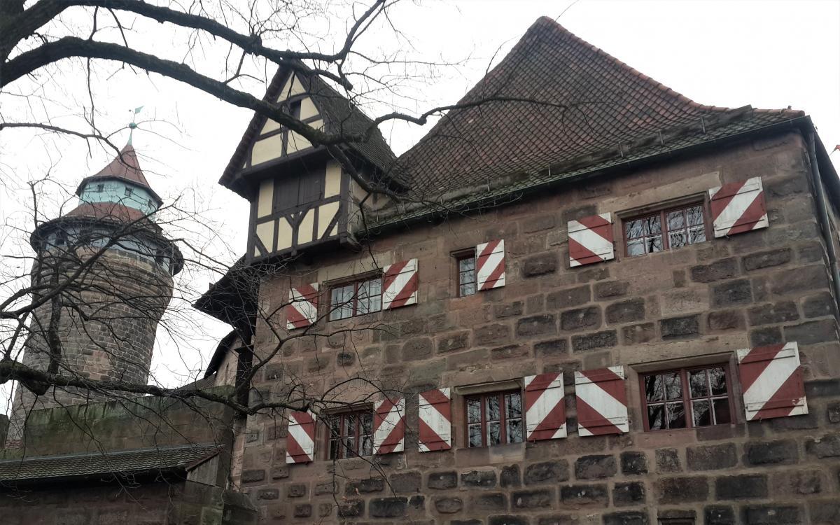 Нюрнбергская крепость (Nürnberger Burg или Kaiserburg) / Фото Марина Григоренко