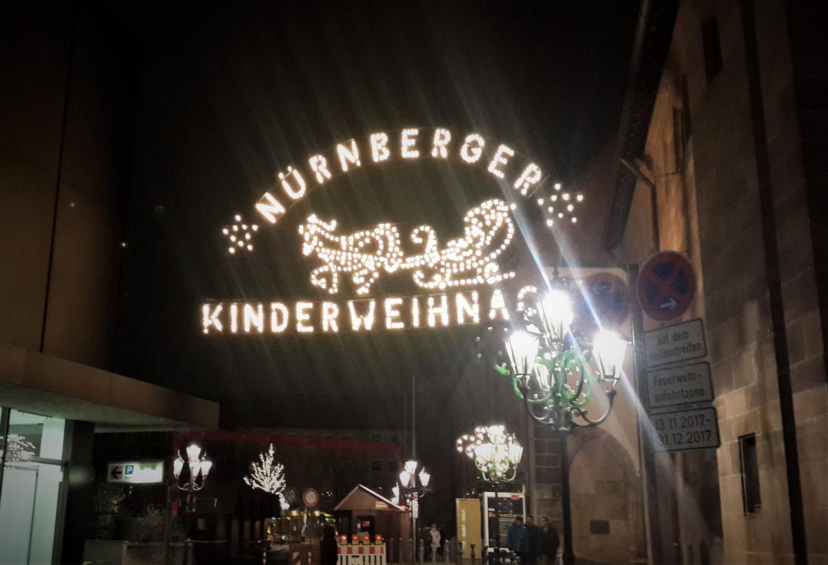 Детский Christkindlesmarkt в Нюрнберге / Фото Марина Григоренко