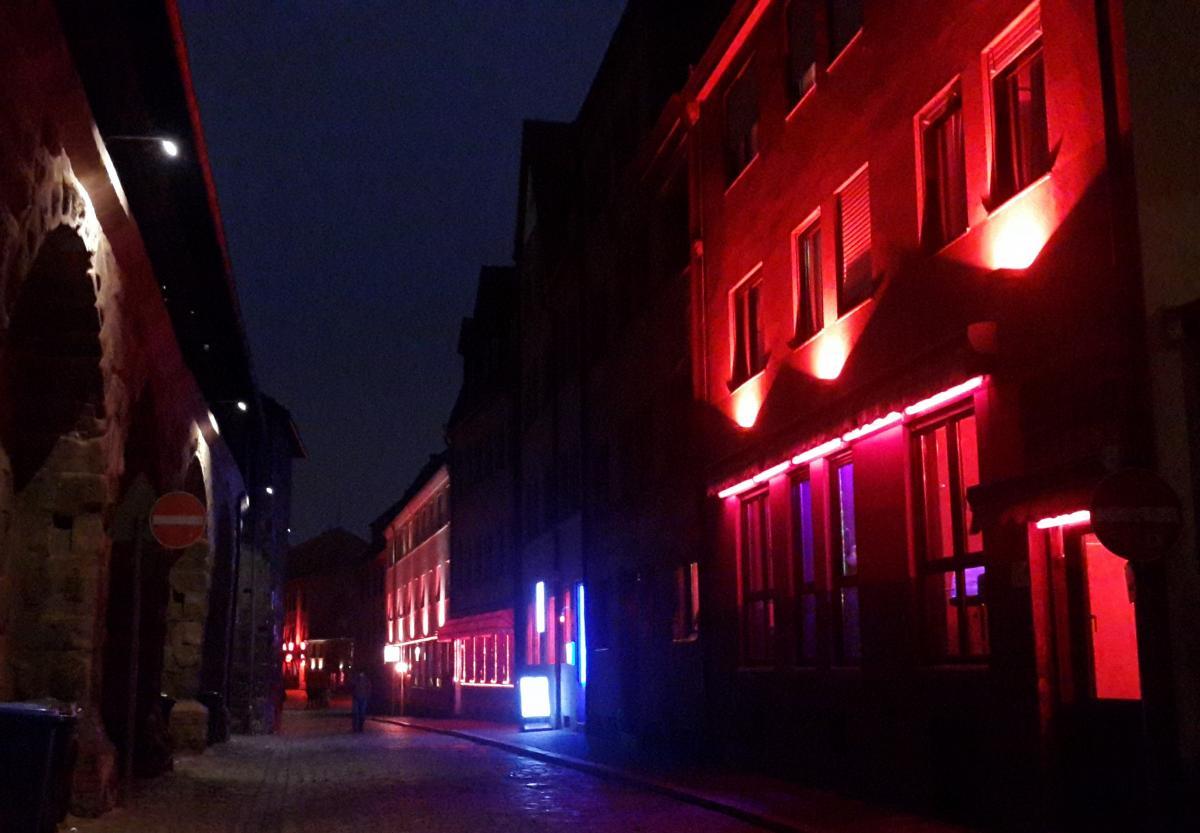 Улица красных фонарей Rotlichtviertel в Нюрнберге / Фото Марина Григоренко