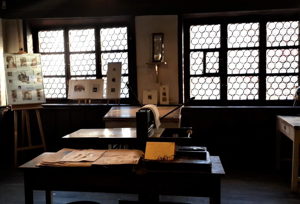 Внутри музея Дюрера / Фото Марина Григоренко