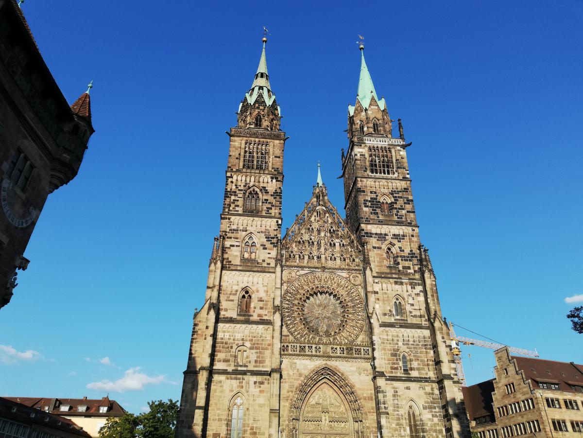 Lorenzkirche в Нюрнберге / Фото Марина Григоренко