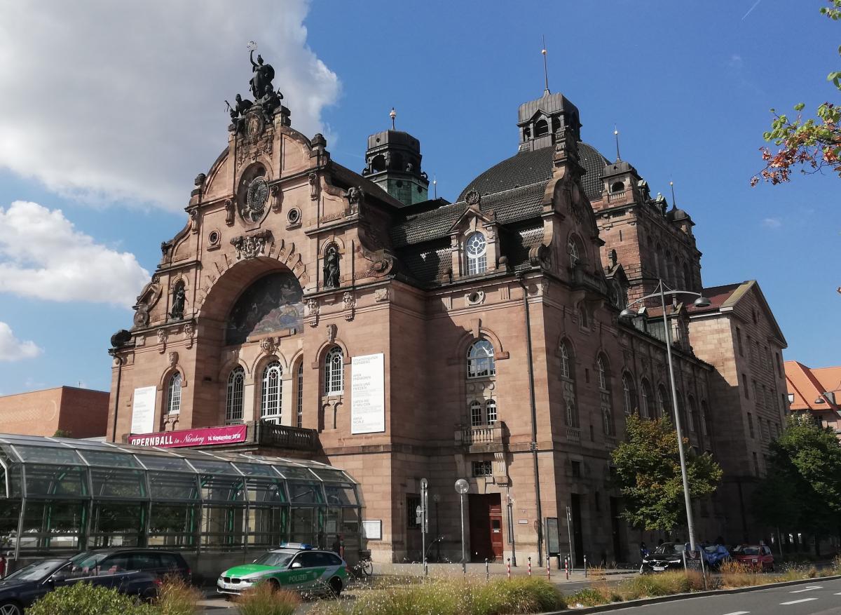 Оперный театр в Нюрнберге / Фото Марина Григоренко