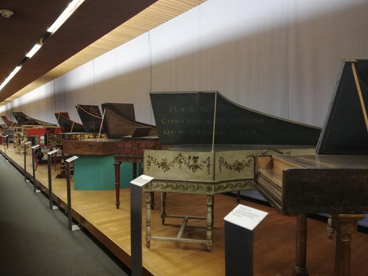 Коллекция музыкальных инструментов в Germanisches Nationalmuseum в Нюрнберге / Фото Марина Григоренко