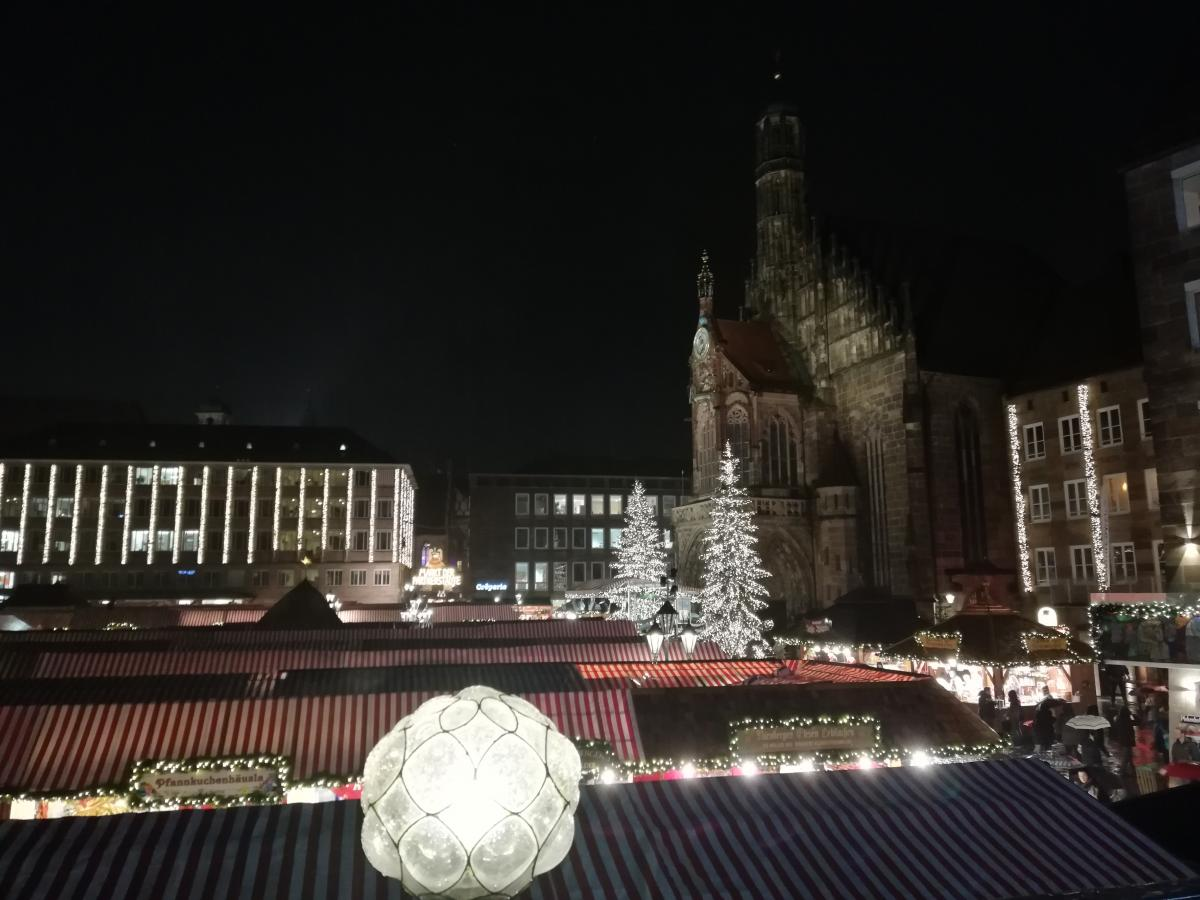 Christkindlesmarkt в Нюрнберге / Фото Марина Григоренко