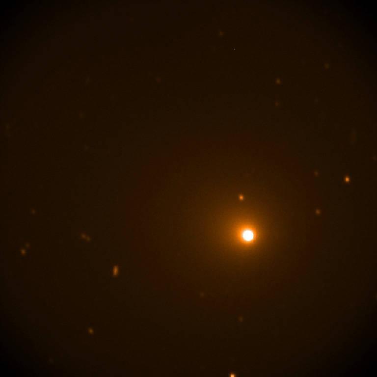 Снимок кометы SOFIA, сделанный 16-17 декабря / фото NASA/SOFIA