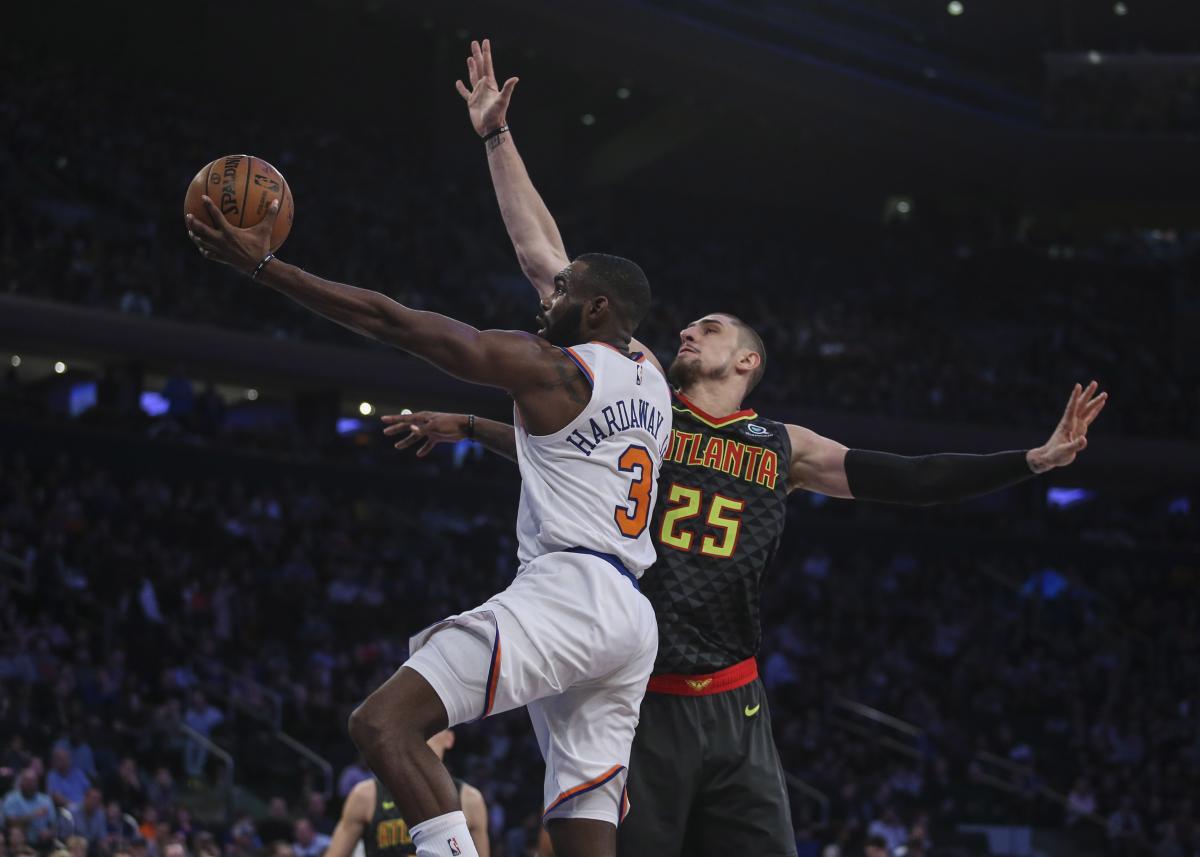 Лэнь набрал в игре против Нью-Йорка 12 очков / Reuters