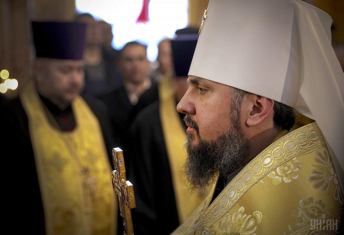 По словам Епифания, впереди еще много совместной работы для укрепления церкви / фото УНИАН